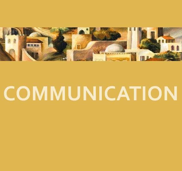 year 1 sermon communcation