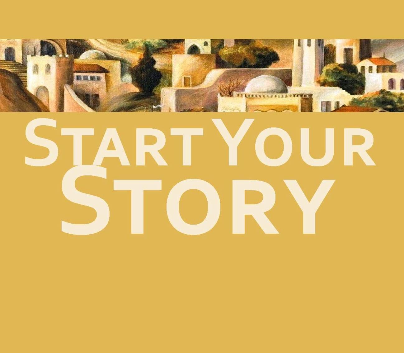 year 1 sermon story start